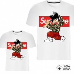"""Ensemble de deux T-shirts """"SUPREME Dragon Ball Z"""""""