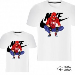 """Ensemble de deux T-shirts """"Nike Spiderman"""""""