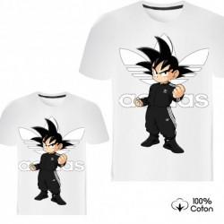 """Ensemble de deux T-shirts """"Adidas Dragon Ball Z"""""""