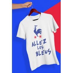 """T-shirt """"ALLEZ LES BLEUS"""""""