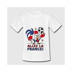 """T-shirt - """"ALLEZ LA FRANCE"""""""
