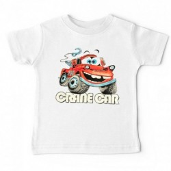 "T-shirt ""Crane car"""
