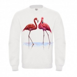 "Sweatshirt ""Flamand rose 2.0"""