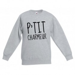 "Sweatshirt ""P'tit charmeur"""