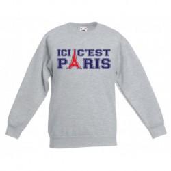 """Sweatshirt """"Ici c'est Paris"""""""