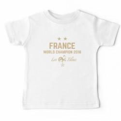 "T-shirt ""France World champion 2018"""
