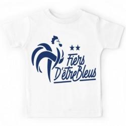 """T-shirt """"Fiers d'être bleus"""""""