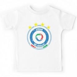 "T_shirt ""Italia gli azzuri"""