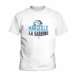 "T-shirt ""Marseille La sardine"""