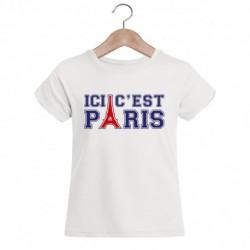 """T-shirt """"Ici c'est Paris"""""""