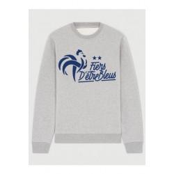 """Sweatshirt """"Fiers d'être bleus"""""""