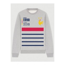"Sweatshirt ""France Champion du monde"""