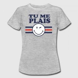 """T-shirt """"Tu me plais"""""""