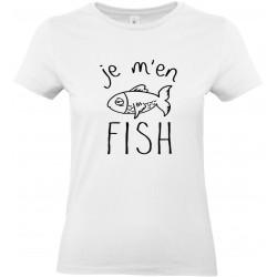 """T-shirt """"Je m'en FISH"""""""
