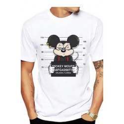 "T-shirt ""Mickey Mouse in Jail"""