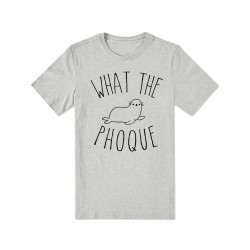 "T-shirt ""What the Phoque"""