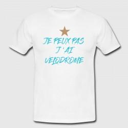 """T-shirt """"Je peux pas j'ai Velodrome"""""""
