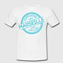 "T-shirt ""Marseille supporter officiel"""