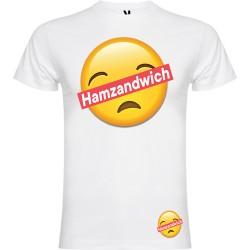 T-shirt pour homme en coton bio - Hamzandwich gros smiley