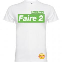 T-shirt pour homme en coton bio - Hamzandwich pas 1 pour faire 2