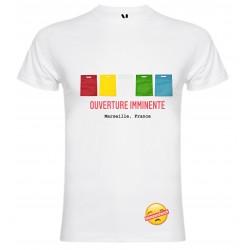 T-shirt pour homme en coton bio - Hamzandwich ouverture imminente Marseille france
