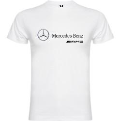 """T-shirt pour homme en coton bio - """"Mercedes Benz AMG"""" 2.0"""