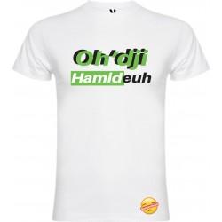 T-shirt pour homme en coton bio oh dji hamideuh vert