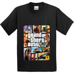 "T-shirt ""Grand Theft Auto V"""
