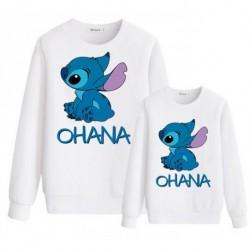 "Sweatshirt ""Stitch Ohana"""