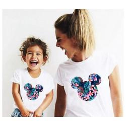 """Ensemble de deux T-shirts """"Minnie 1.0"""""""