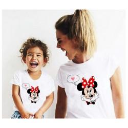 """Ensemble de deux T-shirts """"Minnie 2.0"""""""