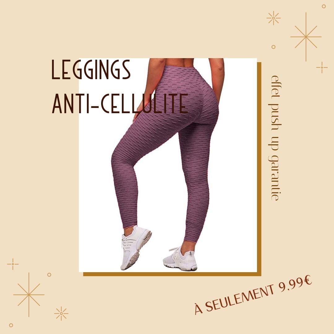 leggings anti-cellulite effet push-up